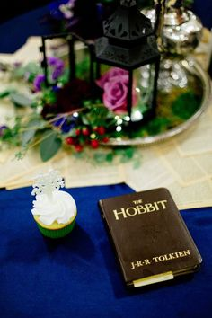 Barefoot Hobbit-themed wedding