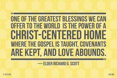 A Christ centered home