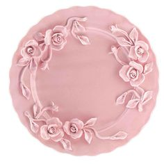 Rambling Rose Cake Plate from Domayne