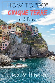 """So, from the stunning beaches of Monterosso to the hidden coves of Riomaggiore, here's how to """"do"""" the Cinque Terre in style."""