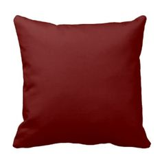Burgundy Pillows, Burgundy Throw Pillows