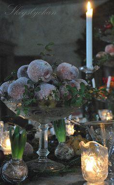 ~Antique Christmas Inspirations~ #Christmas #antiques Atelje Skogslyckan