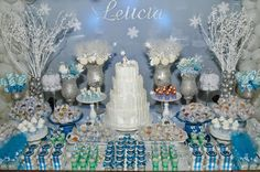 Doce Eve Ateliê | Festas Exclusivas : Frozen para Letícia