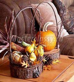 Осенние поделки для детей и взрослых