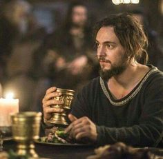 George Blagden as Athelstan, Vikings