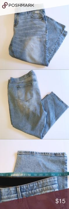 ee3a00b68c5 Old Navy Power Straight High Rise Jeans Brand: Old Navy Size: Two sizes  available