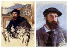 Claude Monet Collection II (Self-portrait)
