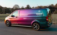 3d Letters, Neon Vans, Vehicle Signage, Painted Vans, Van Wrap, Van Design, Vehicle Wraps, Truck Art, Bus