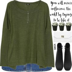 How To Wear be with someone who makes your mondays feel like fridays Outfit Idea 2017 - Fashion Trends Ready To Wear For Plus Size, Curvy Women Over 20, 30, 40, 50