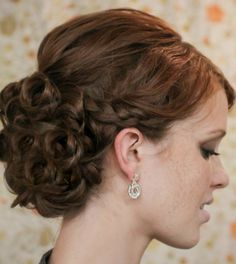 Get Ready for Your Close-up with Chic and Stylish #Wedding_Updo_Hairstyles