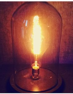 Luminaire sous cloche #light