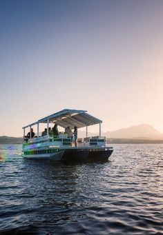 Join us for a relaxed boat trip across the lagoon as you take in the natural biosphere of the estate and the surrounding mountains. Cruise, Join, Mountains, Natural, Building, Travel, Viajes, Cruises, Buildings