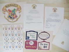 Harry Potter Party Free Printables. Cupcake toppers, classroom signs, letters