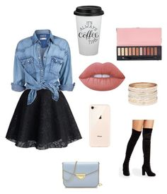 """""""Untitled #90"""" by orz13q on Polyvore featuring Saint Tropez, Lime Crime, Chicwish and Soul Cal"""