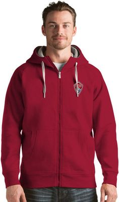 Antigua Men's Colorado Rapids Victory Full-Zip Hoodie