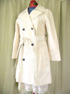 Cute Spring Coat  Vintage London Fog Jacket in by avintageflair, $34.00