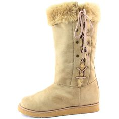 Save 10% + Free Shipping Offer *   Coupon Code: Pinterest10 Material: Man Made Material Brand: MisBehave Footwear Product Code: Regi Tan Color Keep your feet warm in these man made material causal winter boots, featuring comforle flat heel for easy wear. Slip on like a pair of socks. Women's Misbehave Regi Tan Color Flat Heel Warm Boots