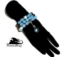 """Necklace - tie and bracelet """"For lovely ladies"""" amazonite and quartz jewelry http://www.livemaster.com/item/21925485-jewelry-necklace-tie-and-bracelet-for-lovely-ladies-amazonite http://fdrag.ru/shop/index.php?route=product/product&product_id=683"""