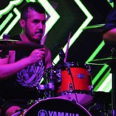 Luis de TOLIDOS representando.  Www.stkm.co  #tolidos #rock #stkmcompany #tshirt