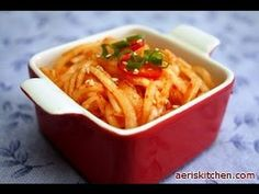 Korean Radish SaengChae – Aeri's Kitchen