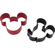 Mickey Mouse Cookie Cutter Set 2ct