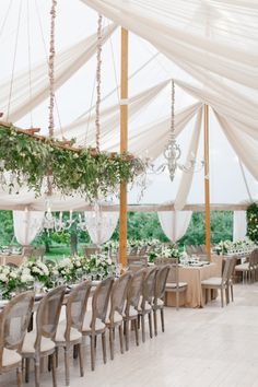I had to double check the location of this elegant affair to confirm that it really didn't take place in Tuscany. Set instead in the Berkshires, 42 North created an Italian-inspired escape, complete with a stunning set up by Sperry Tents and