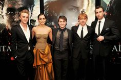 harry Potter Cast... I just LOVED that dress on Emma. So gorgeous!