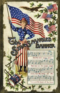 1931 The Star-Spangled Banner became the National Anthem