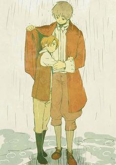 America and England ~ So cute and sweet!!! ^__^ #Hetalia