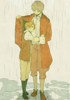 America and England ~ So cute and sweet!!! ^__^ #Hetalia