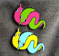 Jacket Pins, Shrinky Dinks, Cool Pins, Metal Pins, Pin And Patches, Worms, Stickers, Up Girl, Pin Badges