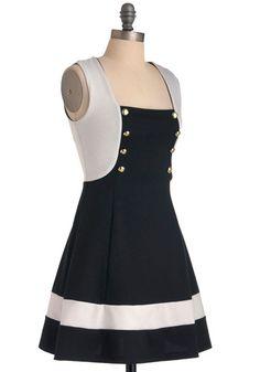 On the Go-Go Dress from Modcloth