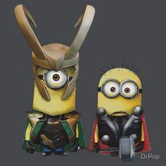 Loki/Thor Minions