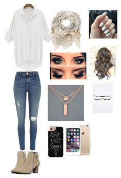"""""""Untitled #131"""" by queen4339 ❤ liked on Polyvore featuring River Island, Sophie Darling, Casetify and American Eagle Outfitters"""