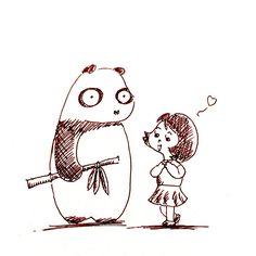【一日一大熊猫】 2015.7.14 ダイエットにはトキメキが効果大らしいぞ! #パンダ http://osaru-panda.jimdo.com