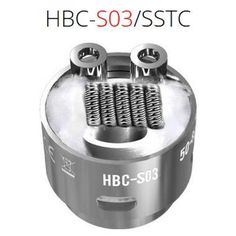 2 pcs GeekVape Staggered Fused Clapton coil S03