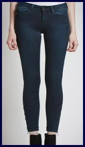 Ankle jeans with ankle zip, by Pepe Jeans
