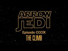Fan Made Video Shows What Arrow Would Look Like In The Star Wars Universe | Screen Rage