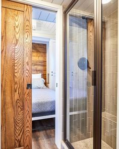 """Cypress"" Tiny House by Mustard Seed Tiny Homes Tiny House Movement // Tiny Living // Tiny House Bedroom // Tiny Home Bathroom // Two Bedroom Tiny House, Modern Tiny House, Tiny House Living, Tiny House Plans, Tiny House Design, Tiny House On Wheels, Tiny Bedrooms, Tiny House Movement, Tiny Houses For Sale"
