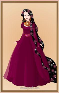 Mariae (Mother Gothel) by on DeviantArt Disney Movie Characters, Disney Villains, Disney Movies, Green Homecoming Dresses, Blue Dresses, Prom Dresses, Azalea Dress Up, Dress Up Dolls, Princesas Disney