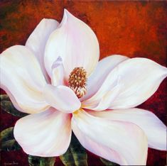 Explore Sanatçı Marianne, Artist Marianne Broome and more! Art Floral, Magnolia Paint, Magnolia Flower, Watercolor Flowers, Watercolor Paintings, Original Paintings, Oeuvre D'art, Painting Inspiration, Flower Art