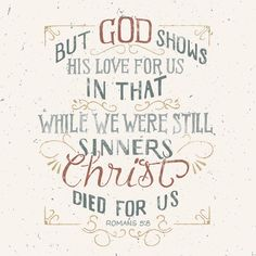 REDE MISSIONÁRIA: CHRIST DIED FOR US (ROMANS 5:8)