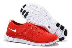 quality design defe0 b9846 Buty Nike Free 5.0 Flyknit Męskie Czerwony Biały 791800-550