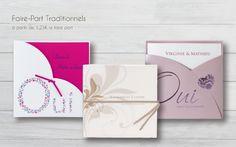 Des faire-part traditionnels exclusifs ! http://www.carteland.com/mariage/faire-part-mariage/faire-part-mariage-traditionnel/