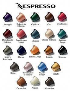 Iso Full Sleeves Of Nespresso Pods Especially Le Flavors No