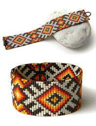 beaded loom bracelet patterns ile ilgili görsel sonucu