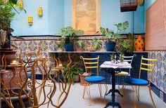 Courtyard at Casal d ' Arta Hotel, Artá, Majorca. Spain.  Pic from website: http://www.casaldarta.de