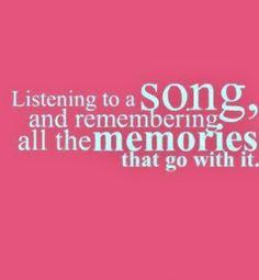 Aan muziek heb je vaak speciale #herinneringen
