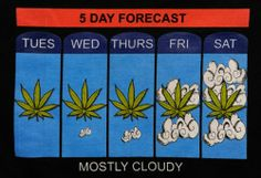 Only in Colorado! Tuesdaze, Wednesdaze, Thursdaze .. I see clouds in the forecast aswell