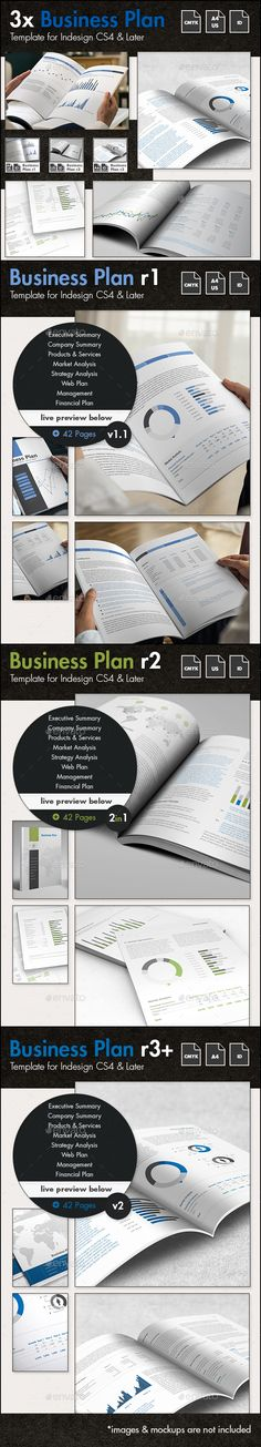 The Business Plan Templates Bundle - Proposals & Invoices Stationery